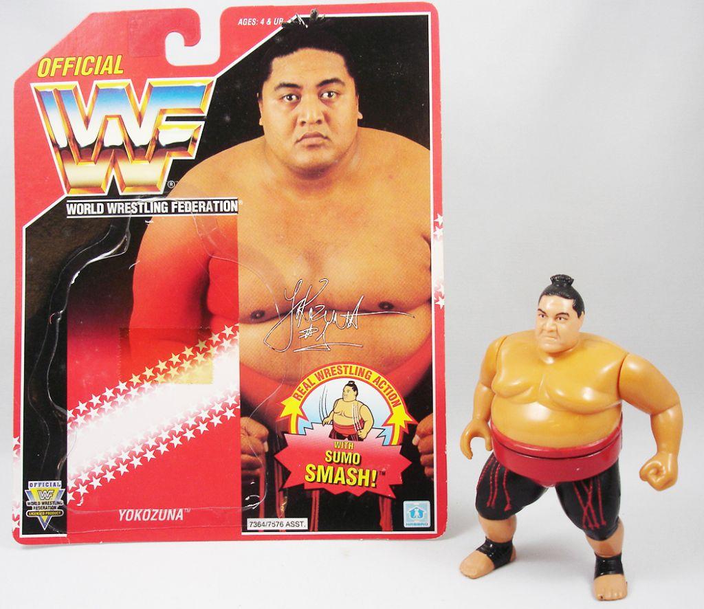 WWF Hasbro - Yokozuna v.1 (loose avec carte USA)