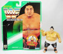 WWF Hasbro - Yokozuna v.2 (loose with USA cardback)