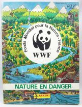 WWF Nature Endangered - Panini Stickers collector book 1988  (Pif n°982 add-on)