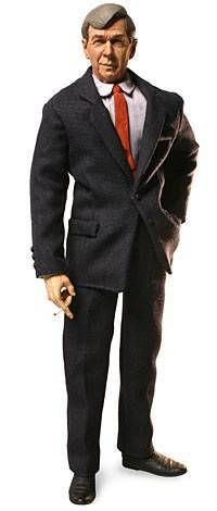 X-Files - Sideshow Collectibles 12\'\' Action Figures - C.G.B. Spender