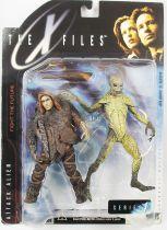 X-Files (Au delà du réel) - McFarlane Toys - Homme Primitif & Attaquant Alien