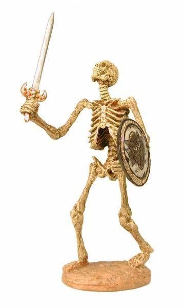 X-Plus Chess piece Series 2 Sword fighting skeletons set Jason and the Argonauts