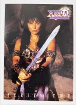 Xena - Topps Trading Cards - Complete series #2 of 72 cards + 6 chromes