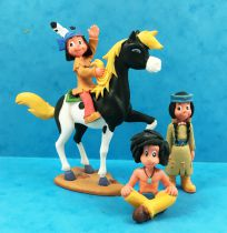 Yakari (Série TV 2005) - Bully - Série de 4 figurines PVC