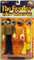 Yellow Submarine - George Harrison with wind-up Yellow Submarine  - McFarlane figure