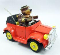 Yogi l\'Ours - Mebetoys - La voiture de Yogi & Boo Boo - Véhicule métal A-35