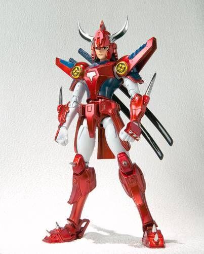Yoroiden Samurai Troopers - Bandai Armor Plus - Ryo of the Wildfire