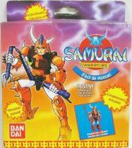 Yoroiden Samurai Troopers - Bandai Playmates Miniatures - Kento of the Hardrock