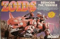 Zoids - Redhorn the Terrible - loose with box