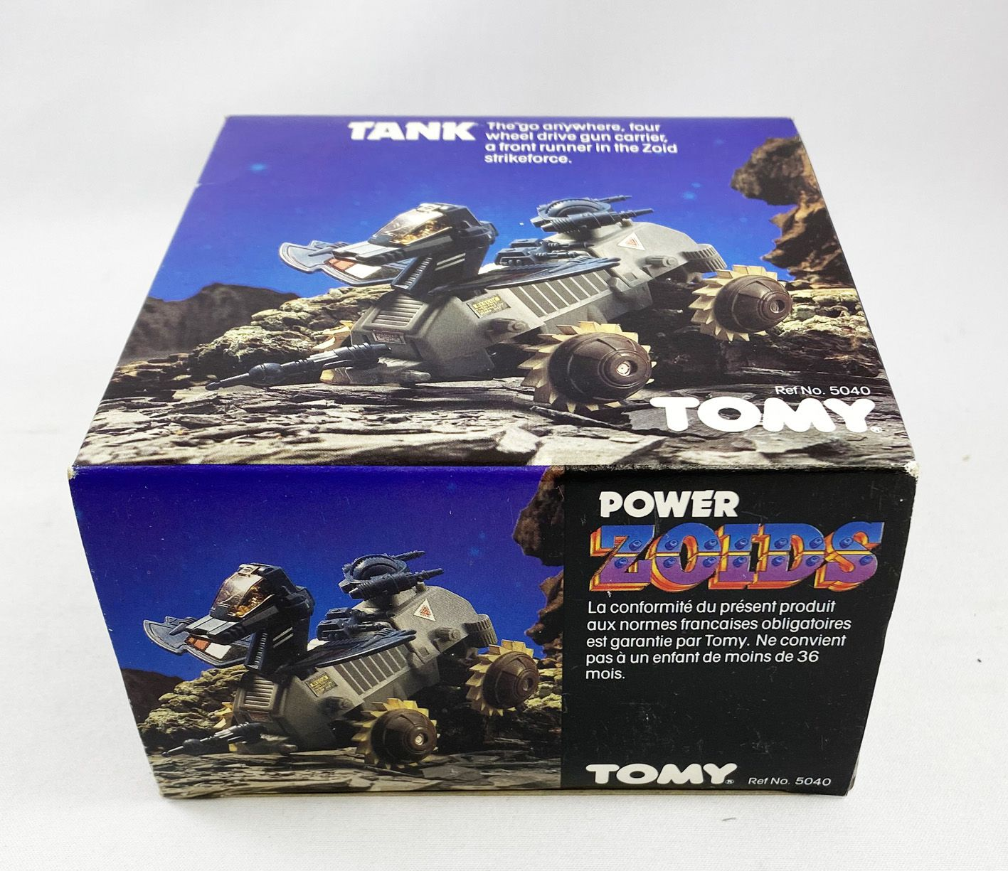 Zoids (OER) - Tomy - Power Zoid Tank (Mint in box)