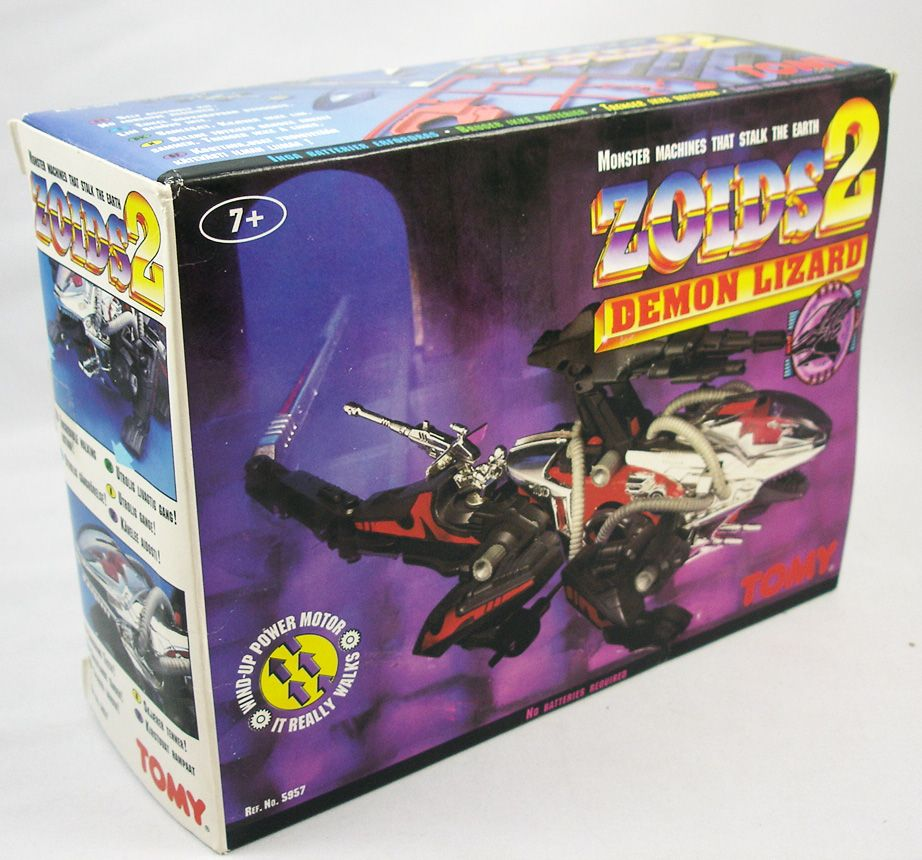 Zoids 2 - Demon Lizard - neuf en boite