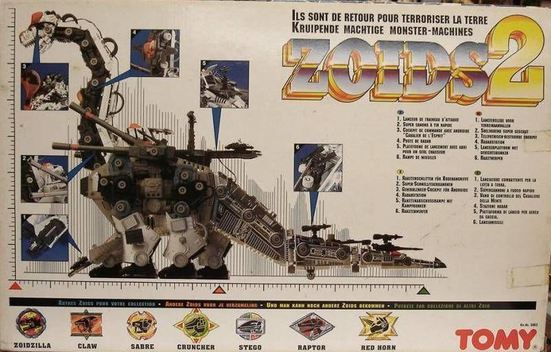 Zoids 2 - Ultrasaurus - mint in box