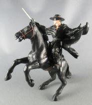Zorro - Figurine PVC Papo - Zorro & Tornado