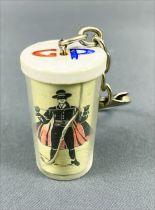 Zorro - Grey-Poupon key-holders - Zorro both hands on sword