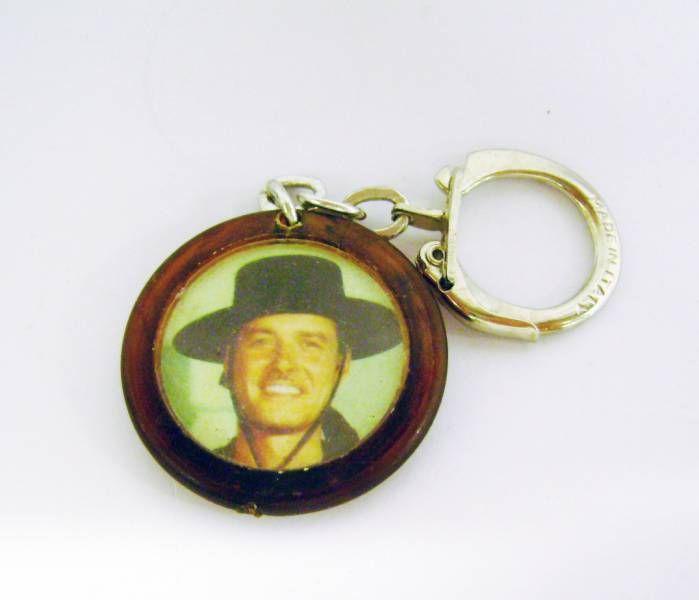 Zorro - Guy Williams brown keychain