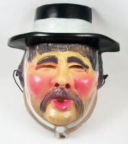 Zorro - Masque de carnaval César - Le Sergent Garcia
