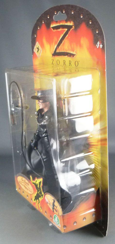 Zorro avec Fouet - Figurines Articulée Giochi Preziosi 16 cm- Neuve Blister
