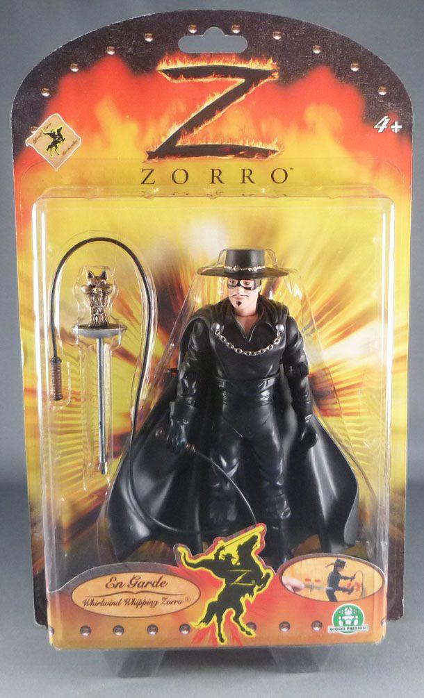 Zorro Whirlwind Wipping - Giochi Preziosi Action Figure - Mint on Card
